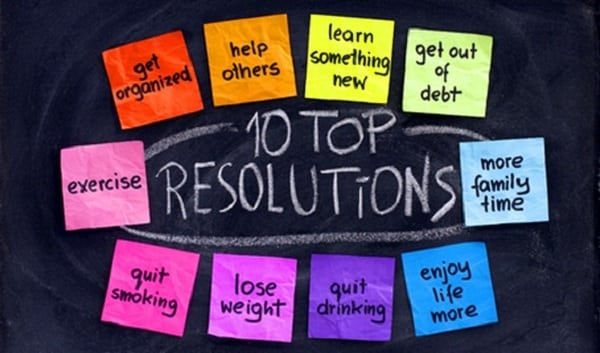 implementing new years resolutions
