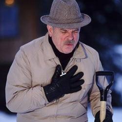 snow shoveling dangerous winter chores