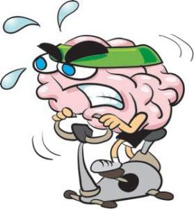 brain exercises - brain bike