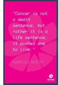 more breast cancer myths death sentence