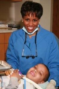 dentist for National Dental Hygiene Month