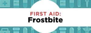 Managing Frostbite