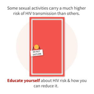 Educate yourself about lowering your HIV and STD risks.